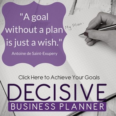 Decisive Business Planner - Michele Scism