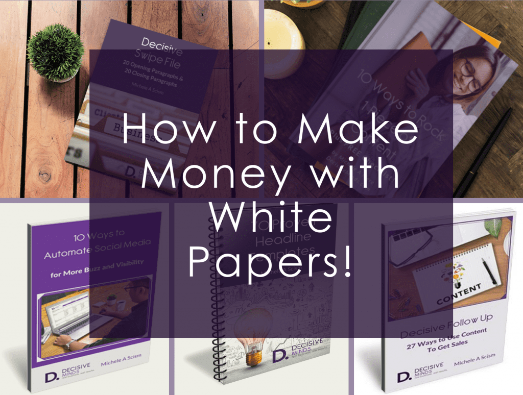 How to Make Money with White Papers