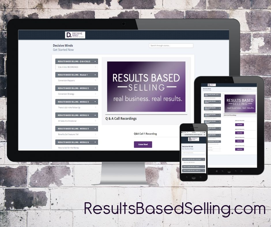 Results Based Selling