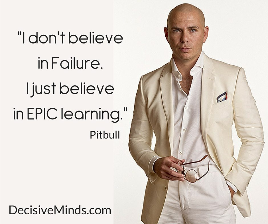 What Pitbull Learned From Tony Robbins