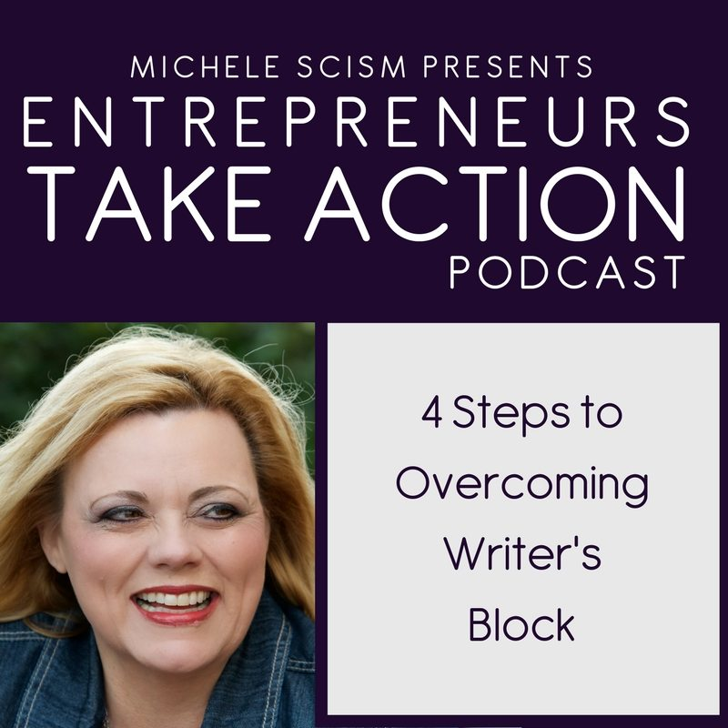 Video Podcast – 4 Steps to Overcoming Writer's Block