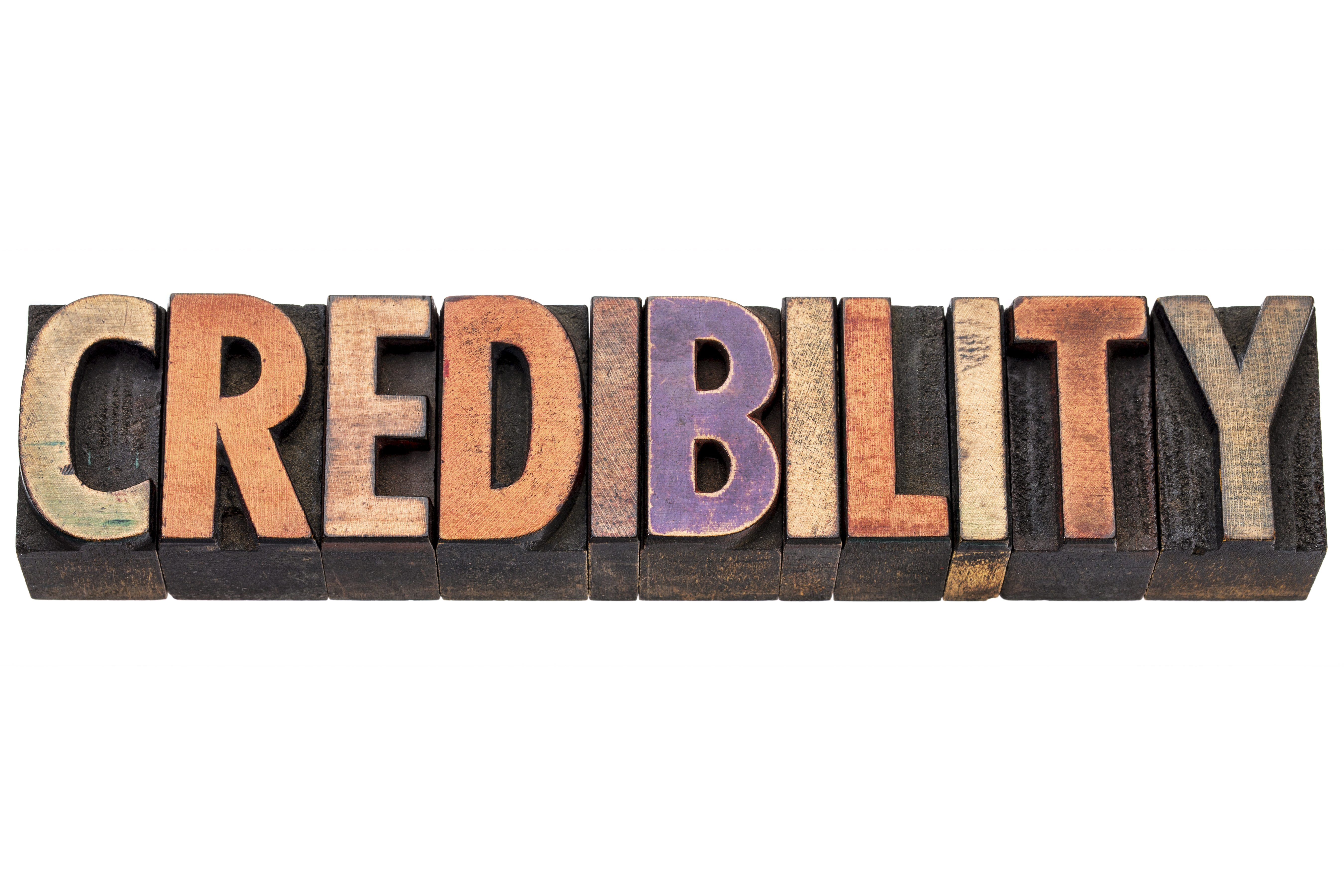 Your Credibility is Your Responsibility