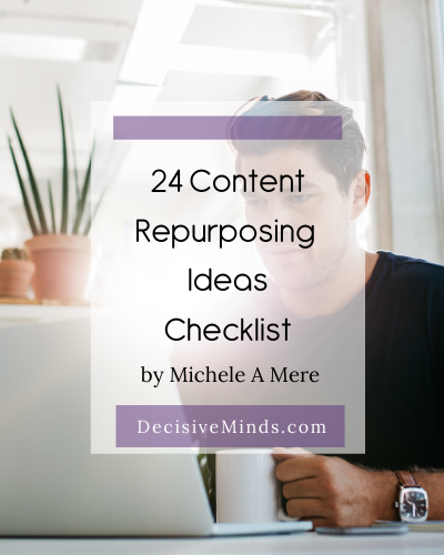 24 Content Repurposing ideas