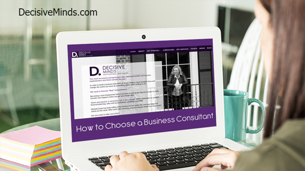 How to Choose a Business Consultant