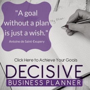 Decisive Business Planner