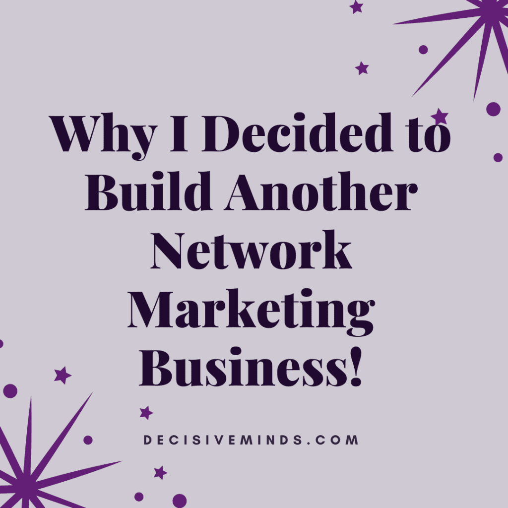 Build Another Network Marketing Business