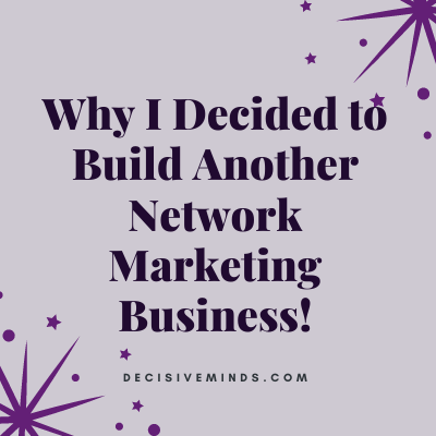 build a network marketing business