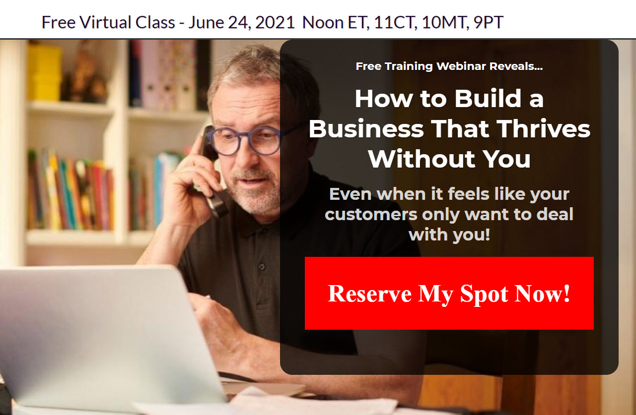 Build A Business That Thrives Without You