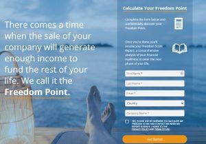 freedom point calculator